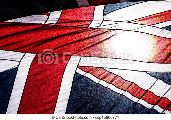 Bandera británica - csp15806771