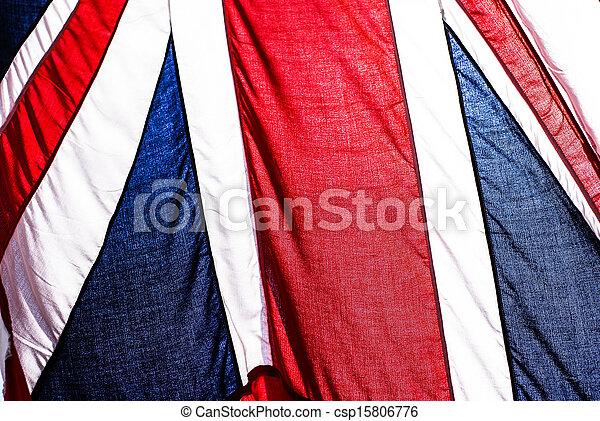 Bandera británica - csp15806776