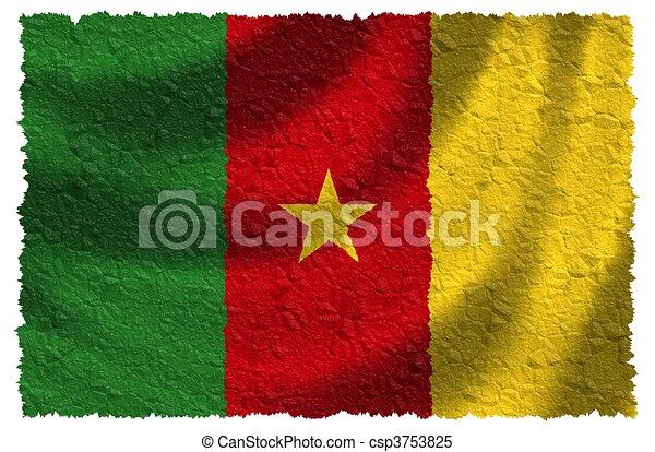 Bandera de camarón - csp3753825