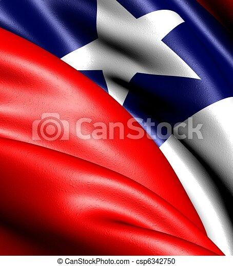 bandera, chile - csp6342750