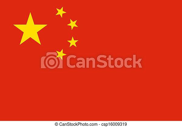 Bandera de porcelana - csp16009319
