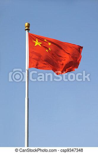 Bandera china - csp9347348