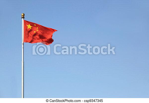 Bandera china - csp9347345