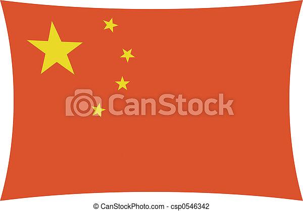 Bandera china - csp0546342