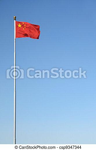 Bandera china - csp9347344