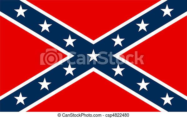 Bandera confederada - csp4822480