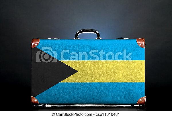 La bandera de Bahamas - csp11010481
