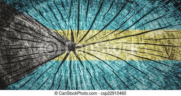 Bandera de Bahamas - csp22910460