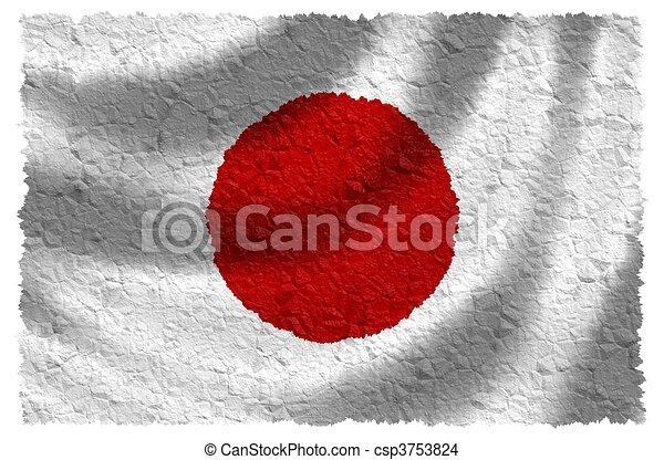 Bandera de Japón - csp3753824
