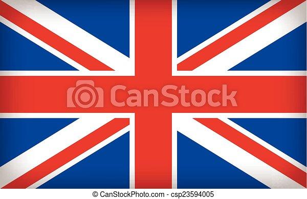 El sindicato británico Jack Flag - csp23594005