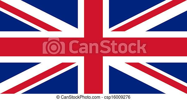 bandera de Union Jack UK - csp16009276