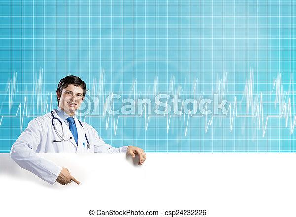 bandera, doctor - csp24232226
