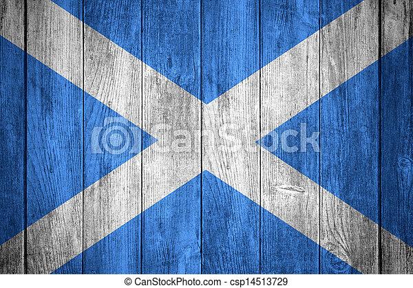 Bandera de Escocia - csp14513729