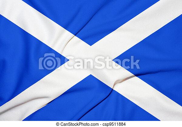 Bandera de Escocia - csp9511884