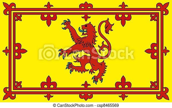 Bandera de Escocia - csp8465569
