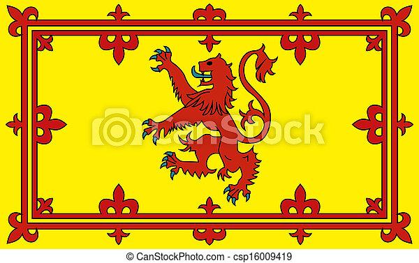 Bandera de Escocia - csp16009419