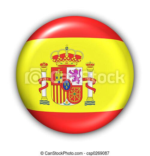 bandera, españa - csp0269087