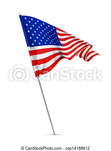 Bandera americana - csp14188612