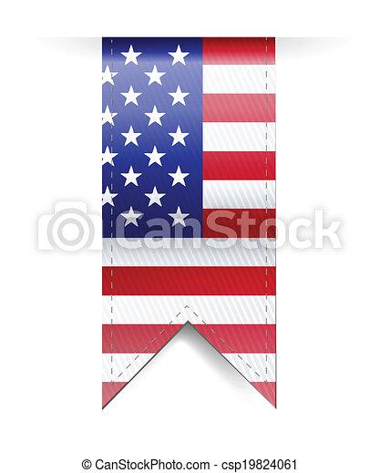 Diseño de ilustración de banderas - csp19824061