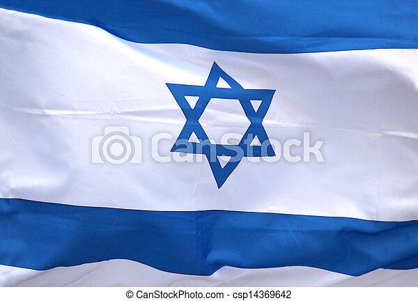 Bandera de Israel - csp14369642