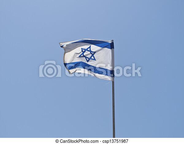Bandera de Israel - csp13751987
