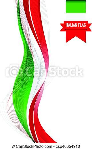 Bandera italiana - csp46654910