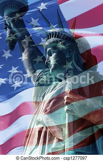 La bandera de la libertad - csp1277097
