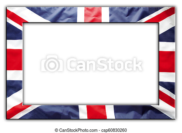 bandera, marco, británico - csp60830260