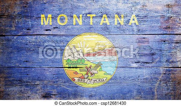 bandera, montana - csp12681430