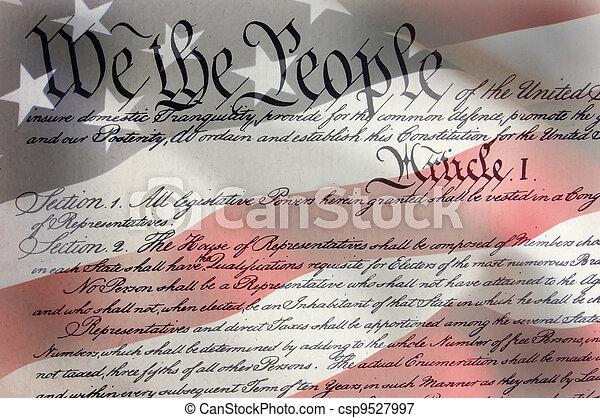 bandera, nosotros - csp9527997