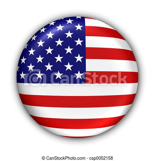 bandera, nosotros - csp0052158