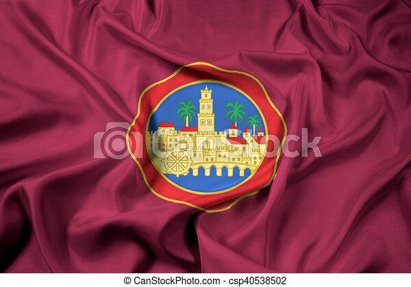 Bandera De Cordoba Spain Canstock