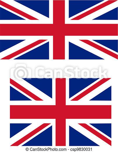 Bandera Reino Unido útil 32 Idioma Proporciones Funcionario