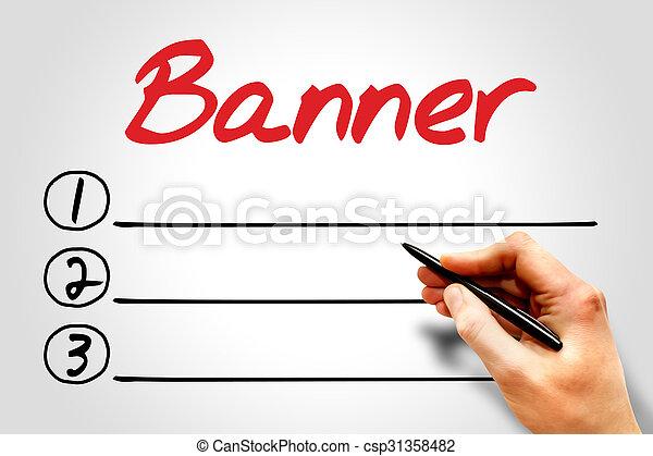 Banner - csp31358482