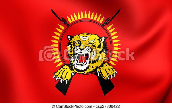 Bandera de tamil eelam - csp27308422