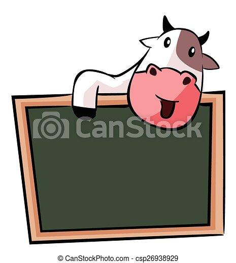 Estandarte de vaca - csp26938929