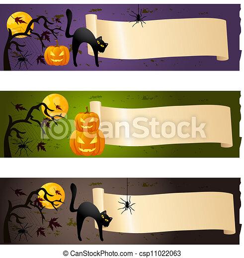 banderas, halloween - csp11022063