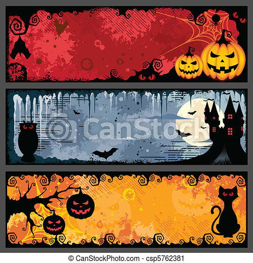 banderas, halloween - csp5762381