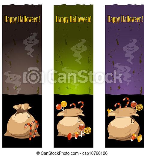 banderas, halloween - csp10766126