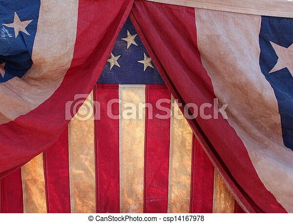 bandery, tło - csp14167978