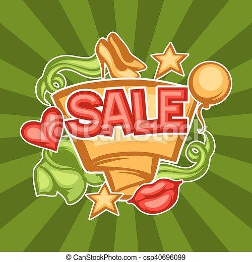 bandiera, abbigliamento, vendita, femmina, accessori - csp40696099