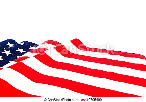 bandiera americana - csp10705499