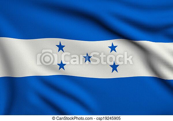 bandiera, honduras - csp19245905