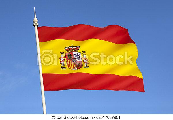 bandiera, spagna - csp17037901