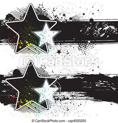 bandiere, stella - csp4500200