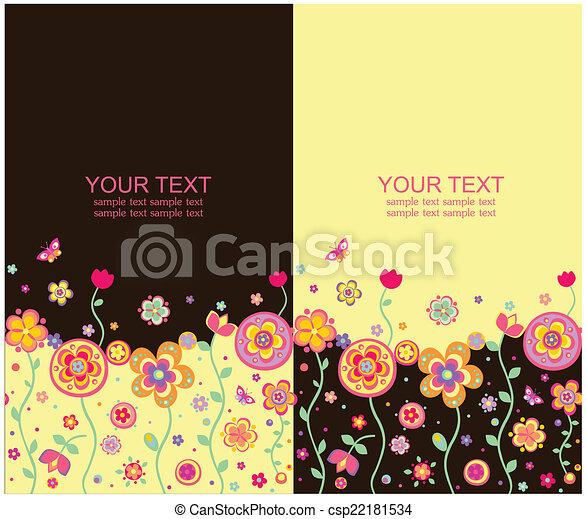 bandiere, summery, seamless - csp22181534