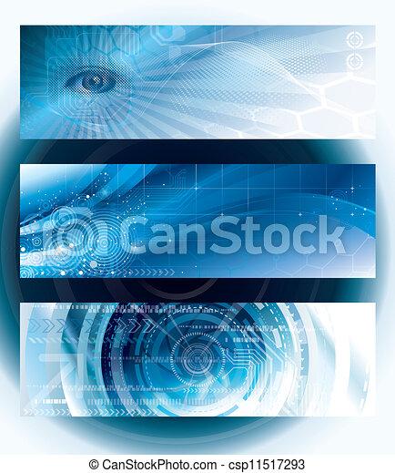 bandiere, tecnologia - csp11517293