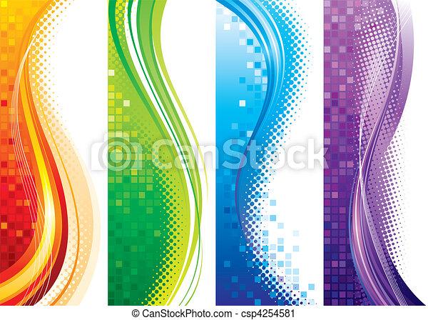 bandiere, verticale - csp4254581