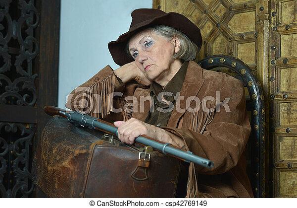 Bandit Im Wilden Westen