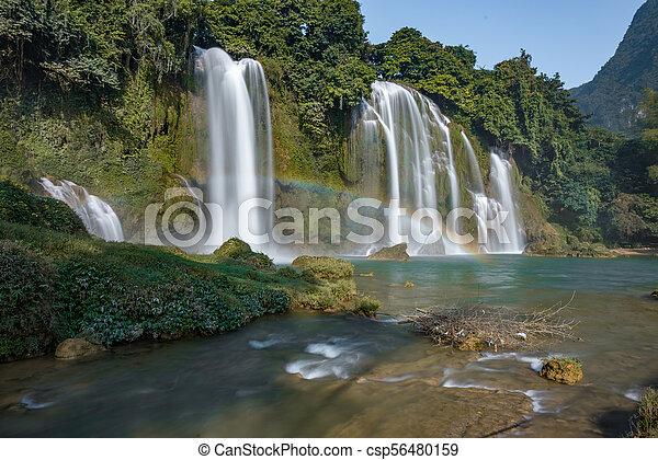 bando, cascata, gioc/detian - csp56480159